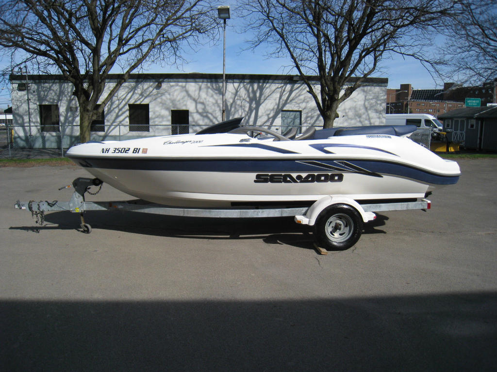 2001 Sea Doo Sportboat boat for sale, model of the boat is CHALLENGER & Image # 23 of 24