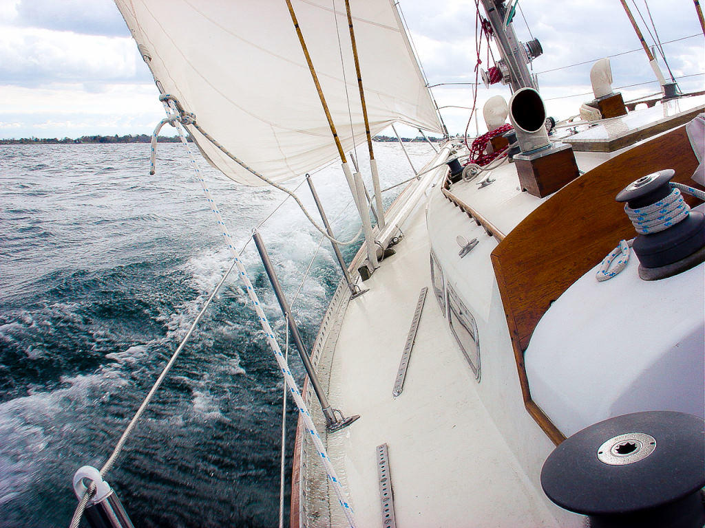 1969 C & C boat for sale, model of the boat is 41 Redline Sloop & Image # 5 of 10