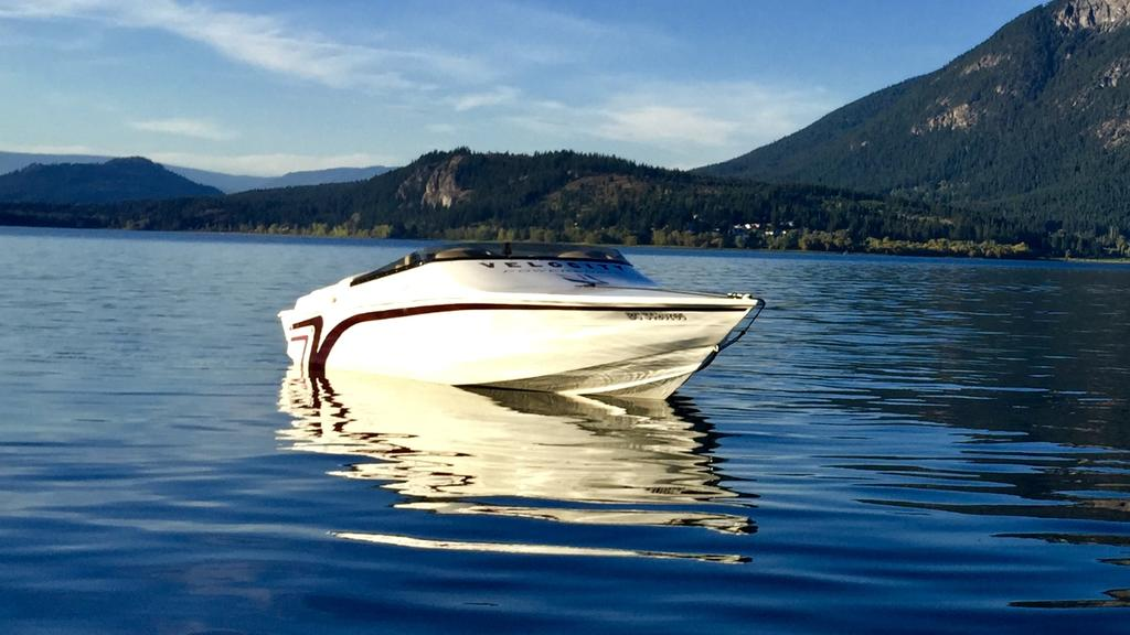 2000 Velocity boat for sale, model of the boat is 260 Performance Cuddy & Image # 2 of 14