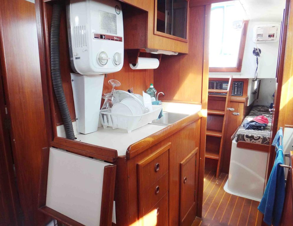 1981 Niagara boat for sale, model of the boat is 35 MkI Sloop & Image # 10 of 18