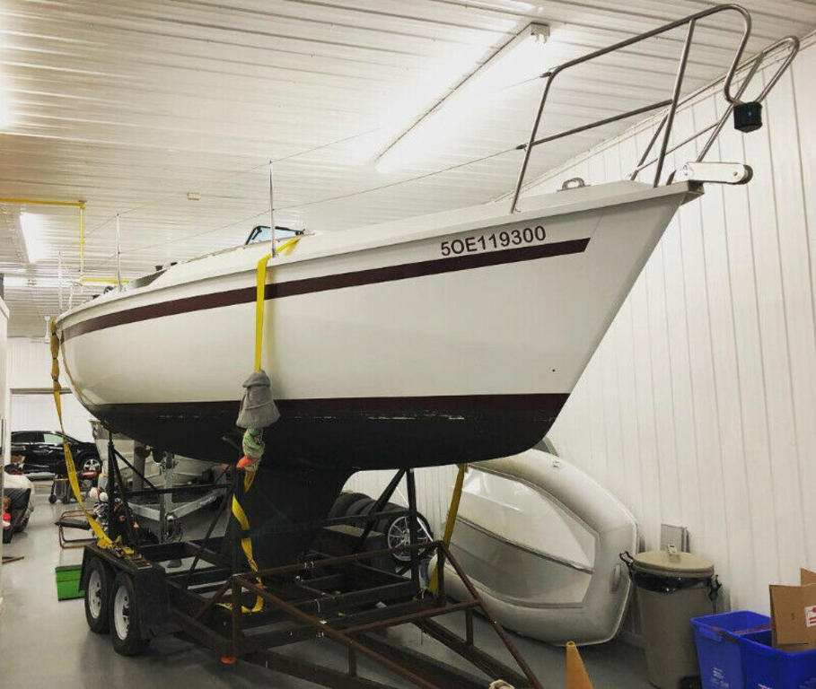 1986 Edel boat for sale, model of the boat is 820 & Image # 1 of 10