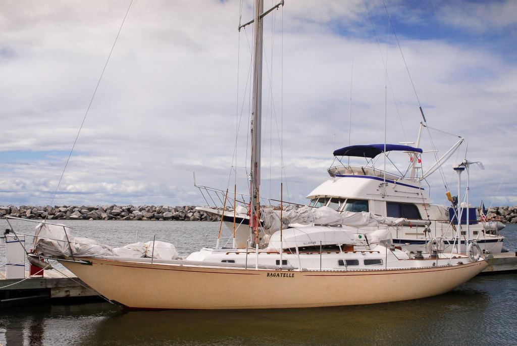 1969 C & C boat for sale, model of the boat is 41 Redline Sloop & Image # 2 of 10