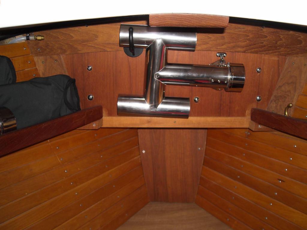 1989 Halman boat for sale, model of the boat is Bluejacket 23 MS Pilothouse & Image # 7 of 10