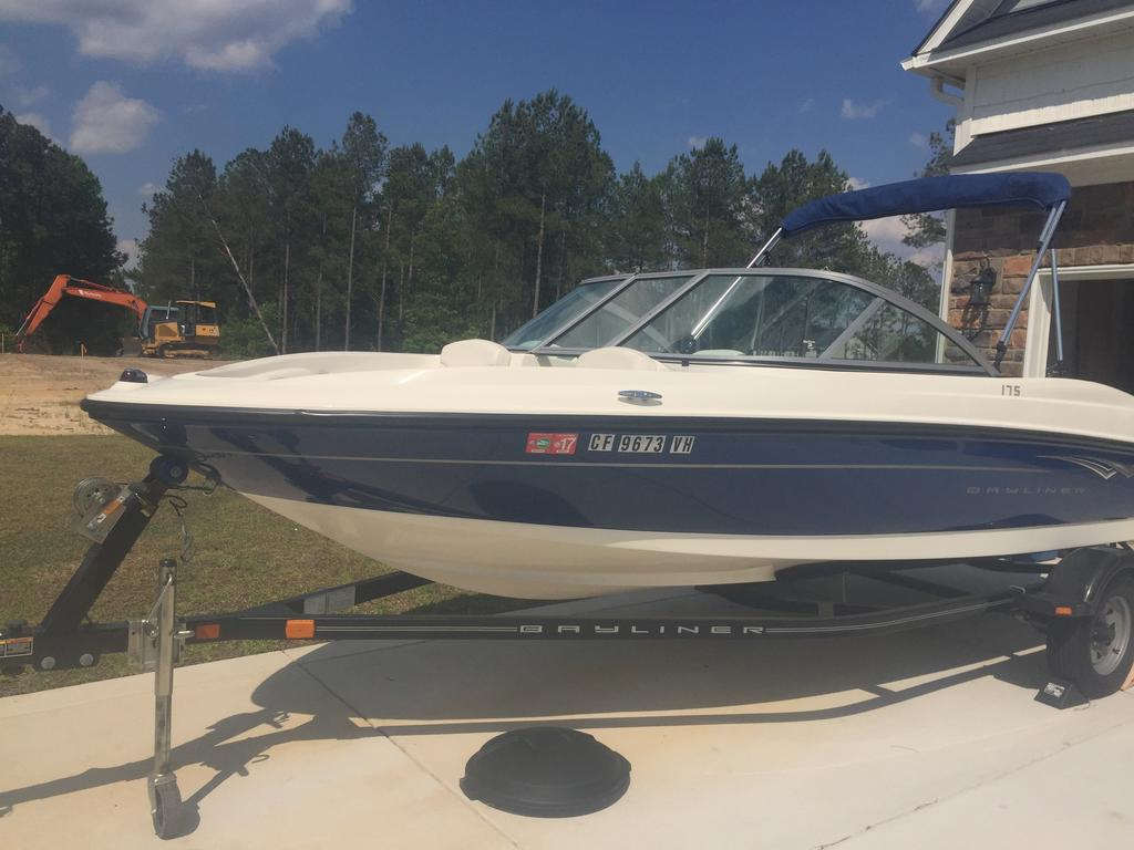 2010 Bayliner boat for sale, model of the boat is BR175 & Image # 1 of 4