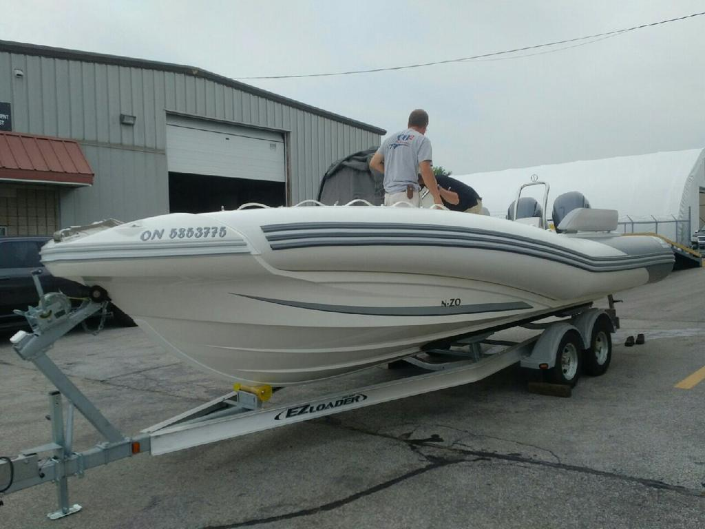 For Sale: 2018 Zodiac Nzo 760 24ft<br/>Co2 Inflatable Boats - Oakville