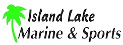 Island Lake Marine & Sports In Logo